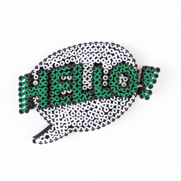 Alessandro Padovan - Screw art - Mini Hello wit