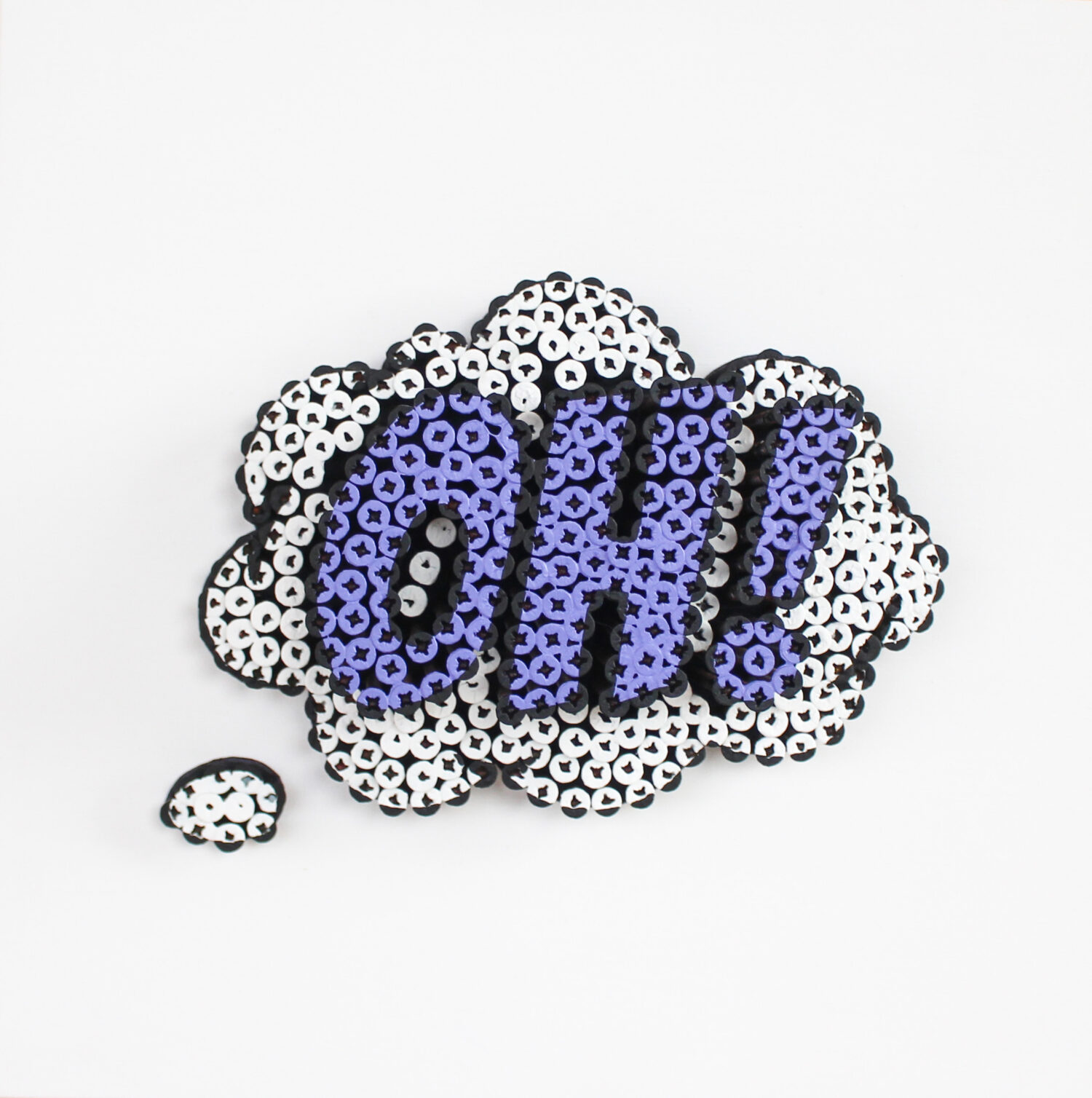 Alessandro Padovan - Screw art - Mini Oh wit
