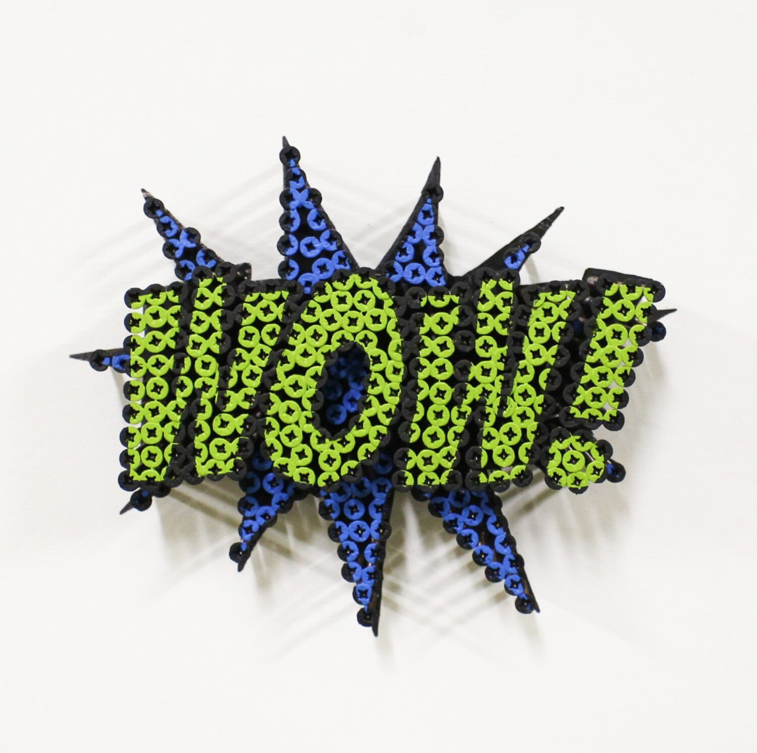 Alessandro Padovan - Screw art - Mini Wow blauw