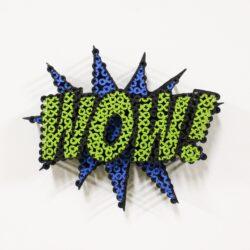 Alessandro Padovan - Screw art - Mini Wow blauw