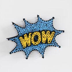 Alessandro Padovan - Screw art - Mini Wow lichtblauw