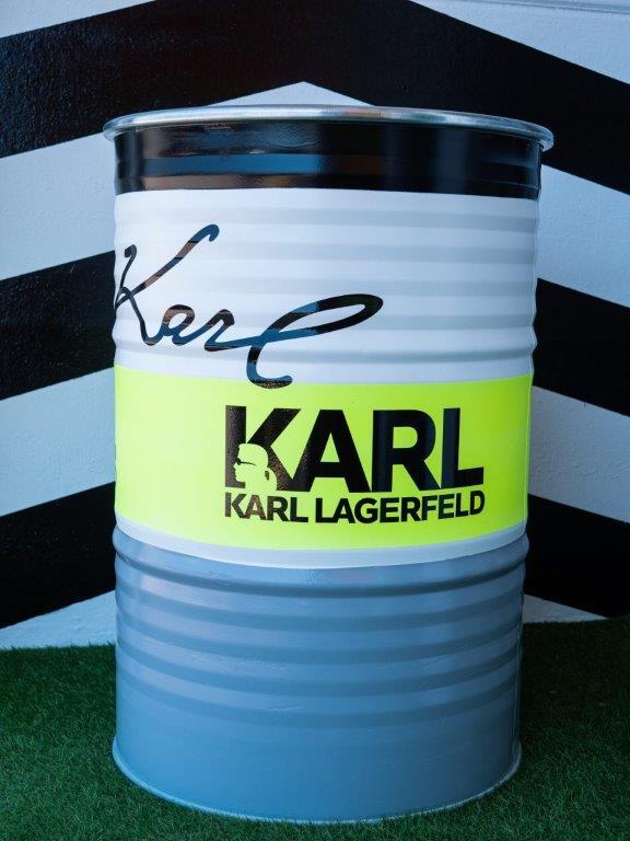 Jogis Art - Pop Art - Drum Karl Lagerfeld