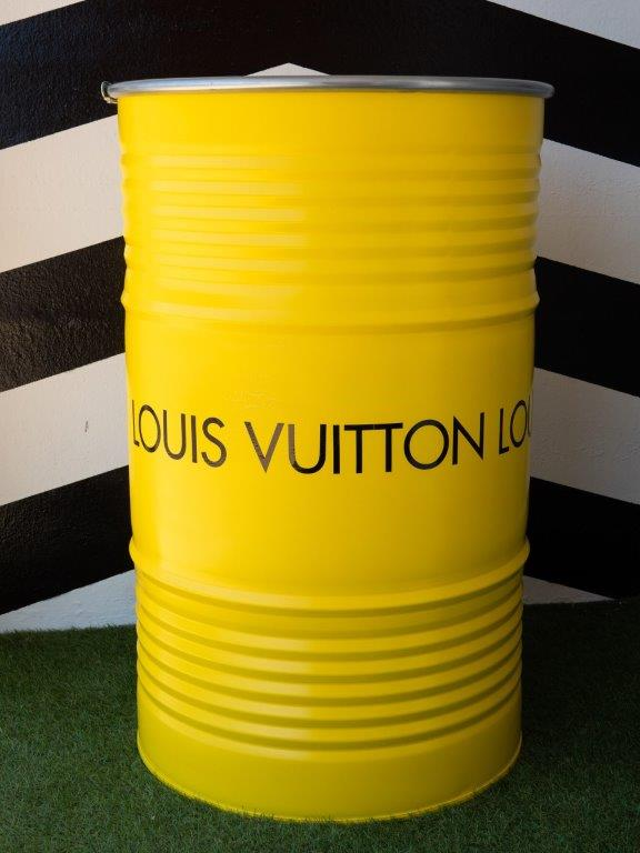 Jogis Art - Pop Art - Drum Louis Vutton