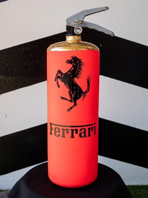 Jogis Art - Pop Art - Brandblusser Ferrari