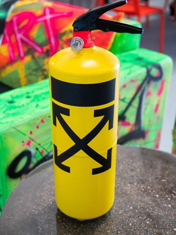 Jogis Art - Pop Art - Brandblusser Off White