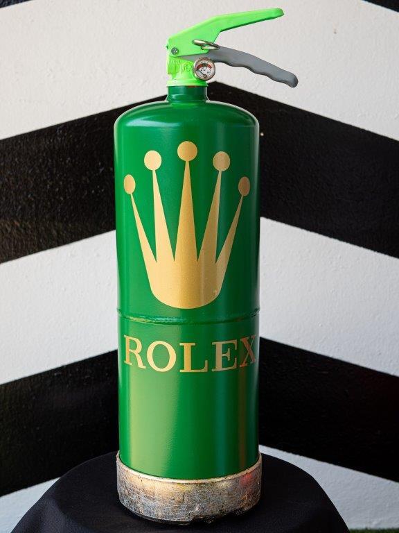 Jogis Art - Pop Art - Brandblusser Rolex Gold