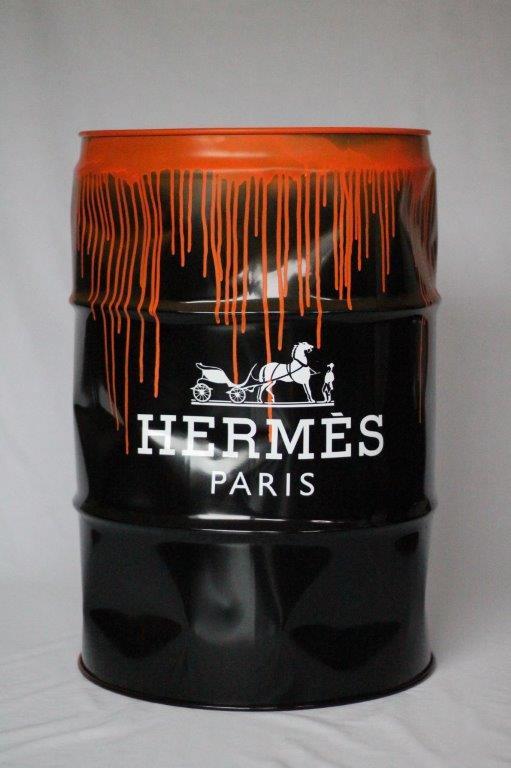 Suketchi - PopArt - Hermes Barrel (Drip)