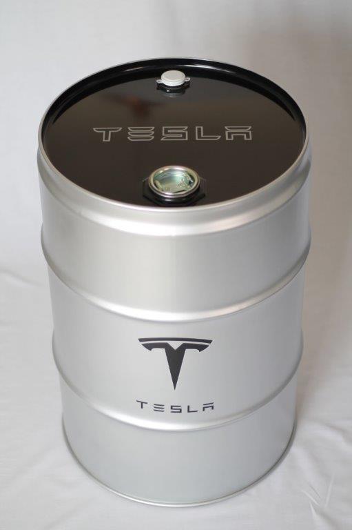 Suketchi - PopArt - Tesla - Silver Edition Barrel