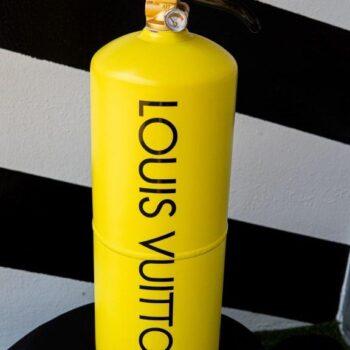 Jogis Art - Pop Art - Brandblusser Louis Vutton yellow