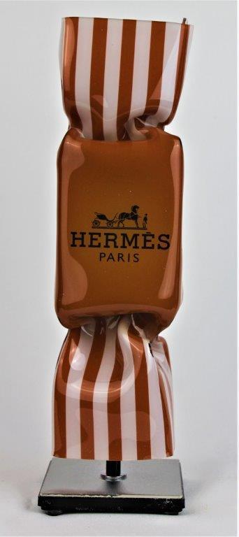 Michael Daniels - Kunstcadeau - Art Candy Toffee - Hermes 30 cm