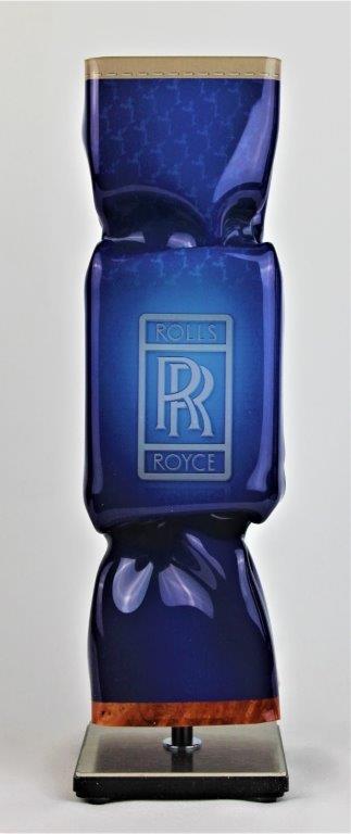Michael Daniels - Kunstcadeau - Art Candy Toffee - Rolls Royce 30 cm