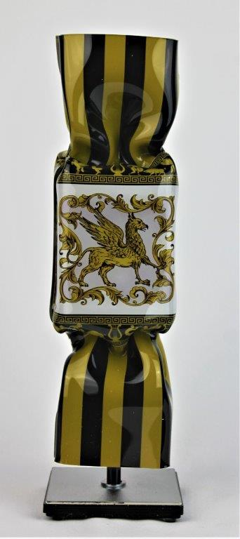 Michael Daniels - Kunstcadeau - Art Candy Toffee - Versace 30 cm
