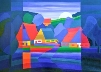 Casper Bentsink - Schilderij - Nr 10