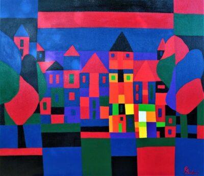 Casper Bentsink - Schilderij - Nr 18