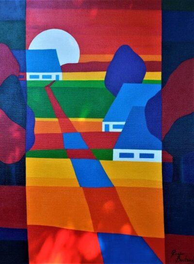 Casper Bentsink - Schilderij - Nr 19