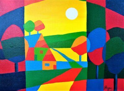 Casper Bentsink - Schilderij - Nr 20