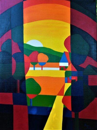Casper Bentsink - Schilderij - Nr 21