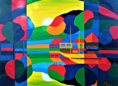 Casper Bentsink - Schilderij - Nr 22
