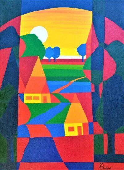 Casper Bentsink - Schilderij - Nr 23