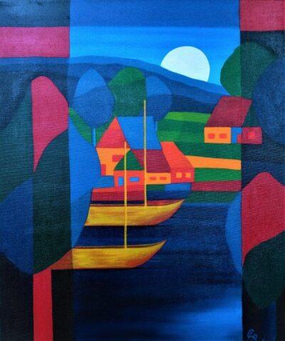 Casper Bentsink - Schilderij - Nr 29