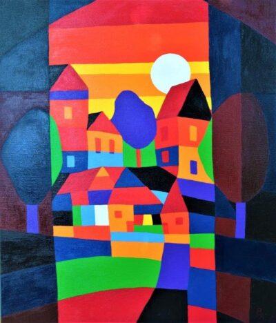 Casper Bentsink - Schilderij - Nr 32