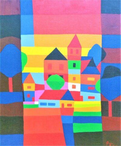 Casper Bentsink - Schilderij - Nr 35