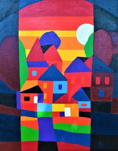 Casper Bentsink - Schilderij - Nr 36