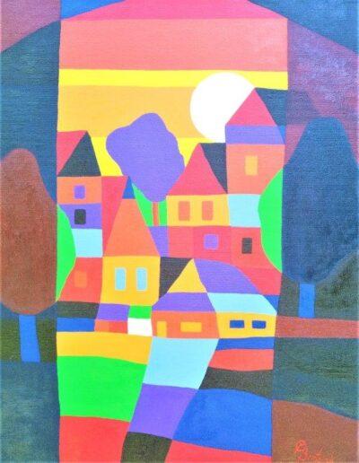 Casper Bentsink - Schilderij - Nr 37