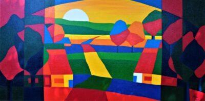 Casper Bentsink - Schilderij - Nr 6