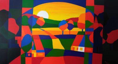 Casper Bentsink - Schilderij - Nr 8