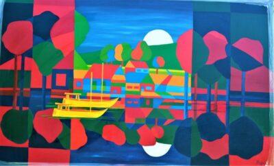 Casper Bentsink - Schilderij - Nr 9