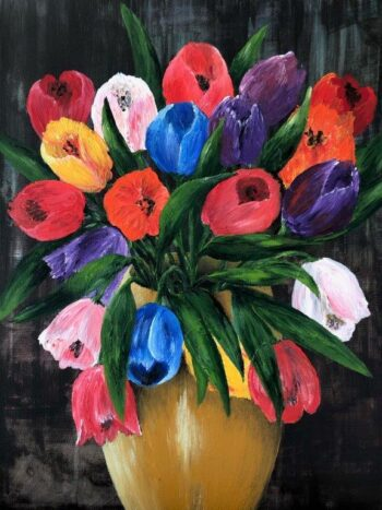Betty Besselsen - Schilderij - Lentebode